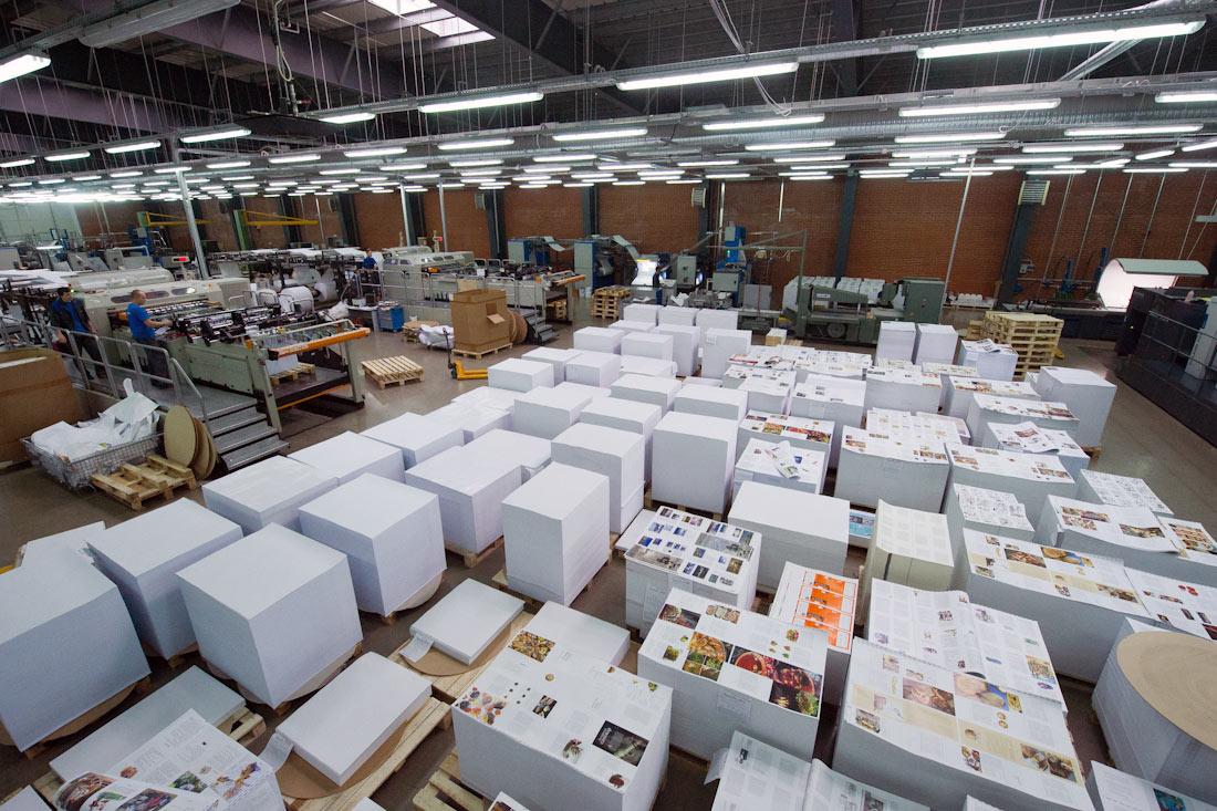 Перевозка печатной продукции