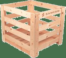деревянная обрешетка