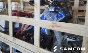 Перевозка 6-ти мотоциклов Enduro из Москвы в Алматы