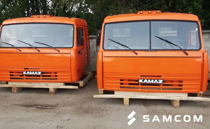ГК SAMCOM доставила кабины «КАМАЗ» в Казахстан