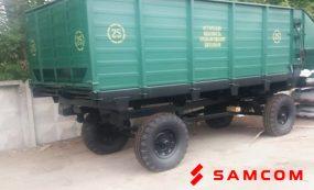 Перевозка тракторного прицепа из России в Казахстан